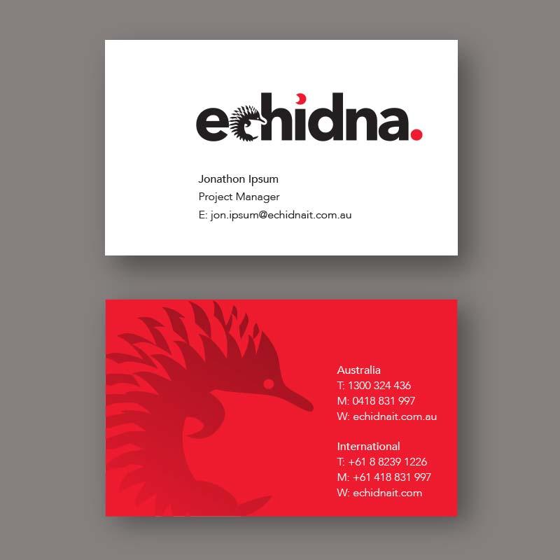 echidna businesscards